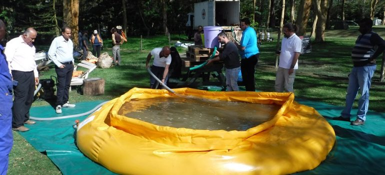 Training in Water Infrastructure now run as on-site session